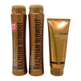 Brazilian Blowout Anti Frizz Shampoo And Conditioner Duo 12 Ounce And Smoothing Serum 8 Ounce Intl Shop