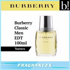 Deals For Burberry Classic Men Edt 100Ml Tester