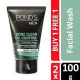 Buy Buy 1 Free 1 Pond S Men Acne Clear Oil Control F*C**L Wash 100G Ponds Original