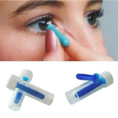 BUYINCOINS Portable Contact Lens Inserter For Hard /RGP and Soft Remover Halloween Blue - intl