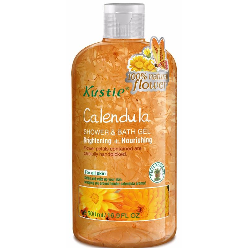 Buy Kustie Calendula Shower & Bath Gel 500ml Singapore