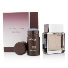 Compare Calvin Klein Euphoria Coffret Eau De Toilette Spray 100Ml 3 4Oz Deodorant Stick 75G 2 6Oz 2Pcs Intl