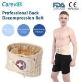 Recent Carevas Back Decompression Belt Lumbar Support Brace Spinal Air Traction Device Back Pain Relief For Degenerative Disc Spinal Stenosis Sciatica 6 Size 26 58 Waist Ce Fda Approved Intl