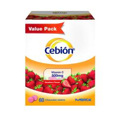 Store Cebion Vitamin C Chewable Strawberry Flavour 60S Value Pack Cebion On Singapore