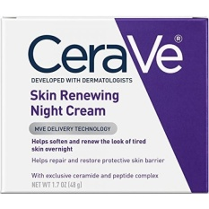 Cerave Skin Renewing Night Cream 1 7 Oz F*c**l Moisturizer With Niacinamide And Peptide Complex To Soften Skin Intl Not Specified Cheap On South Korea