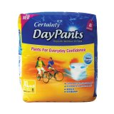 Sale Certainty Day Pants Regular Pack Xl X 8 Packs Certainty Wholesaler