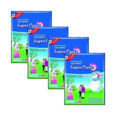 Certainty Superpants M 20Pcs X 4 Packs Deal