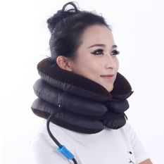 Compare Cervical Neck Air Traction Device Shoulder Pillow Headache Relax Brace Support Prices