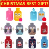 Low Cost ★Christmas Best Gift★ Hot Water Bag Warmer Pack For Winter And Travel Heat Pack Heated Pad Pillow Cushion For Office Blue Owl