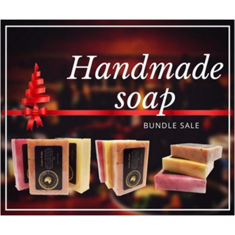 Buy Natural Handmade Soap Gift Set x 3ps Singapore