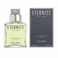 Retail Price Ck Eternity Men Edt Spray 100Ml