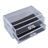 Retail Clear Acrylic Cosmetic Jewelry Makeup Organiser Drawer Box Case Stand No5