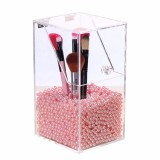Buy Clear Acrylic Dustproof Cosmetic Organizer Makeup Brush Storage Case Holder Box Intl Cheap China