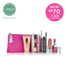 Price Clinique Merry And Bright Makeup Set Online Singapore