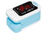 Cms50M Led Fingertip Pulse Oximeter Finger Pulse Blood Oxygen Spo2 Monitor Light Blue Intl Shopping