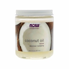 Review Now Foods Coconut Oil 7Oz 207Ml Now Foods On Singapore