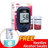 Buy Cofoe Yice Accurate Blood Glucose Monitor With 50S Strips Free 50S Alcohol Swabs And 50S Needles Intl China