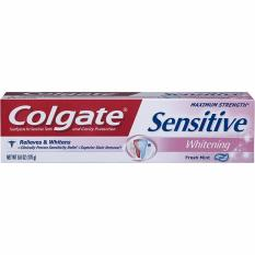 Cheaper Colgate Maximum Strength Sensitive Whitening Fresh Mint Gel Toothpaste 170G