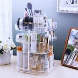 Sale Cosmetic Storage Box Dressing Table Shelf Cute Desktop Lipstick Skin Care Transparent Rotary Acrylic Finishing Intl Online China