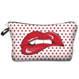 Cute Fashion Travel Cosmetic Bag Makeup Case Multifunction Toiletry Zipper Wash Organizer Pouch Storage Pattern 1 Intl Deal