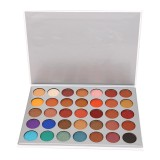 Get The Best Price For Cyber Sales Glitter 35 Colors Eye Shadow Powder Palette Matte Eyeshadow Cosmetic Makeup Kit Intl