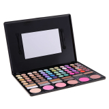 Coupon Cyber Women Cosmetics Professional 78 Colors Eyeshadow Makeup Palette Kit Intl Intl