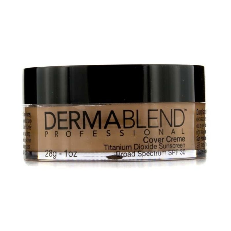 Buy Dermablend Cover Creme Broad Spectrum SPF High Color Coverage Yellow Beige 28g Singapore