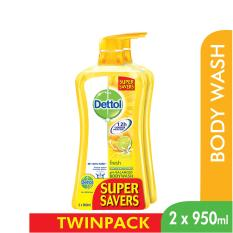 Sales Price Dettol Body Wash Fresh P P 950Ml X 2