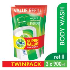 Where To Shop For Dettol Body Wash Pouch Original 900Ml Twin Pack