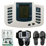 Latest Digital Stimulator Massager Full Body Relax Pulse Acupuncture Therapy Slipper Intl