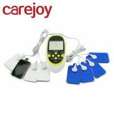 Review Digital Therapy Machine Pulse Full Body Acupuncture Massager 8 Pads On China