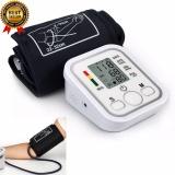 Buy Digital Upper Arm Blood Pressure Pulse Monitor Health Care Tonometer Meter Lcd Heart Rate Home Sphygmomanometer Portable Blood Pressure Monitors Intl Oem