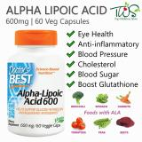 Price Doctor S Best Alpha Lipoic Acid 600Mg 60Vcaps Online Singapore