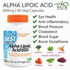 Doctor S Best Alpha Lipoic Acid 600Mg 60Vcaps Online
