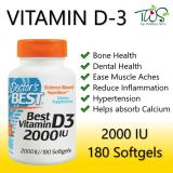 Doctors Best Vitamin D3 2000Iu High Potency 180 Softgels Best Price