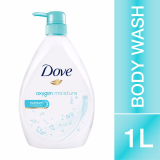 Buy Dove Oxygen Moisture Body Wash 1 Litre On Singapore