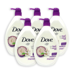 Who Sells The Cheapest Pack Of 5 Dove Body Wash Rebalance W Plum Sakura Scent 1000Ml 4525 Online