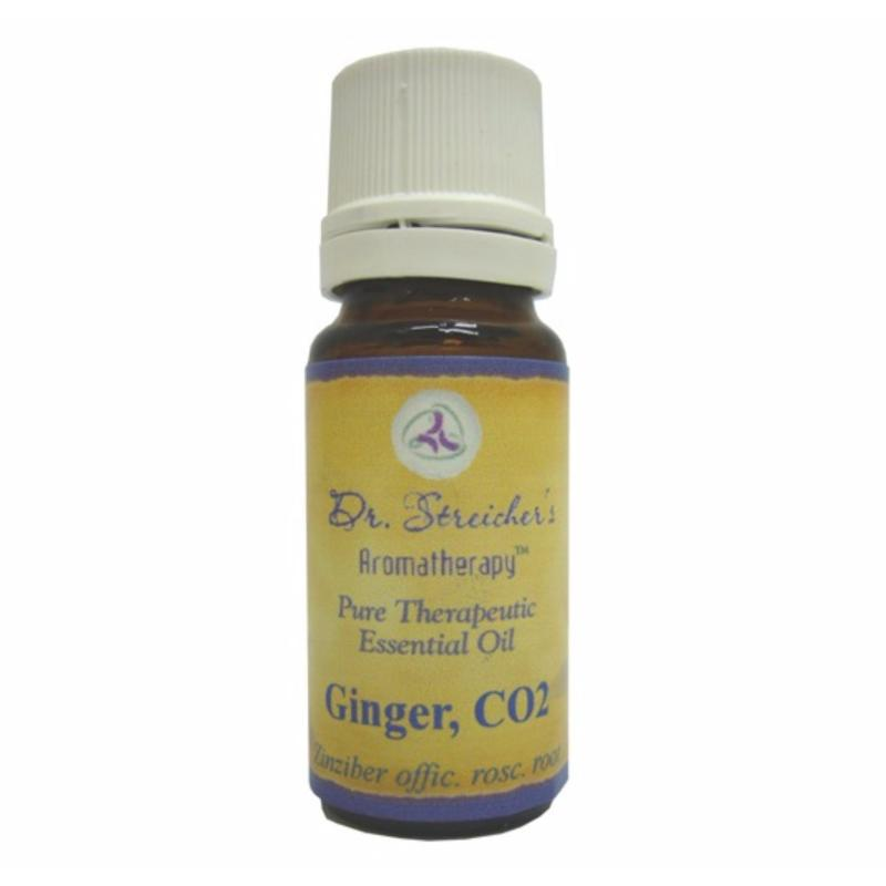 Buy Dr. Streichers Ginger, CO2 Essential Oil (Organic)  1/3oz (10ml) Singapore
