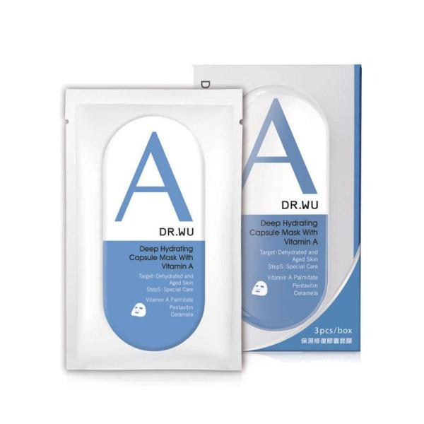 Buy DR. WU Deep Hydrating Capsule Mask w Vit A 3s Singapore