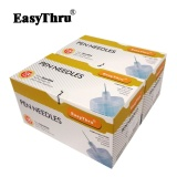 Easythru Comfort Painless 32G 23 4 Mm Insulin Pen Needles 100Pcs Box Free Shipping Intl Lowest Price