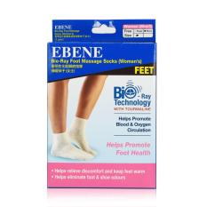 Sale Ebene Bioray Foot Massage Socks Beige With Tourmaline Women S 1 Pair Ebene Wholesaler