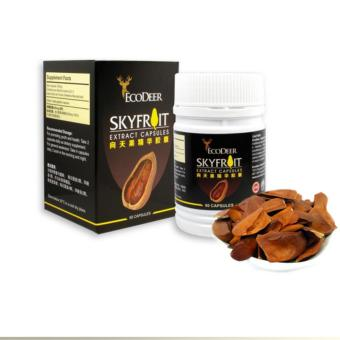 Rc Global Skyfruit Extract Capsules Supplement Anti Diabetes Anti Cancer Anti Tumour Reduces Fats Enhances Immune System Healthy Food (向天果精华胶囊)Rc Global Price