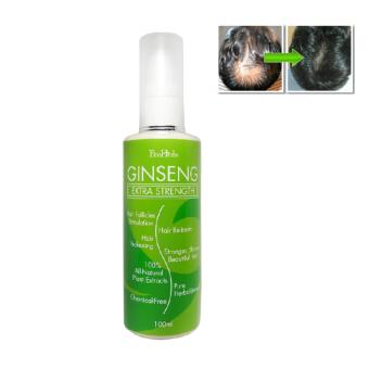 Cheapest Ecoherbs Ginseng Extra Strength Serum Hair Fall Grow Hair Regrowth Cream Shampoo Natural Products Thickener Spray Thickening Restoration Bald Balding Thicker Hair Herbal Hair Growth For Women Men