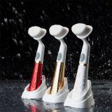 Best Buy Electric Face Wash Brush Skin Cleaner F*C**L Cleansing Cleanser Brush Face Scrub Clean Spa Beauty Relief Massager Face Beauty Gold Intl