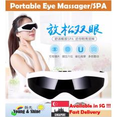 Electric Magnetic Vibration Eye Massager ◆ Acupoint Massage ◆ Stress Relief Massager I Tech Cheap On Singapore