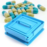 Empty Capsule Plates With Spreader 100 Holes Vitamins Powder Capsules Filling Tool Intl Oem Discount