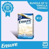 Compare Prices For Ensure Plus Vanilla 200Ml Bundle Of 12