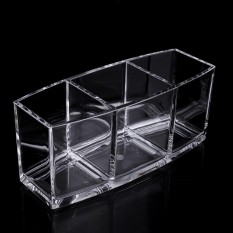 Compare Prices For Era Transparent Pen Holder Style Makeup Tools Organizer Makeup Brushes Holder Clear Intl