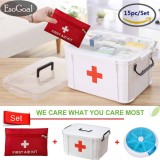 Esogoal Family Medicine Cabinets Medical Box And 13 Pcs First Aid Kit With Free Esogoal Gift Pills Case Intl Reviews
