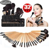 Discount Esogoal Professional 32Pcs Makeup Brushes Kit Cosmetic Make Up Tool Set With Pouch Bag Intl